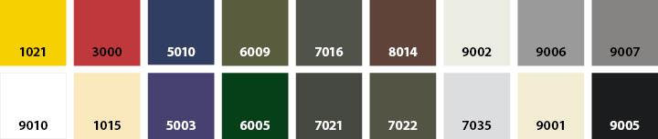 stucco-kleuren